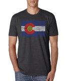 Men's XL CO Flag T-shirt